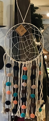 Dream Catcher-Macrame Pom
