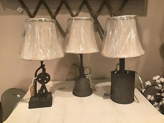 Mayberry Utensil Mini Lamps