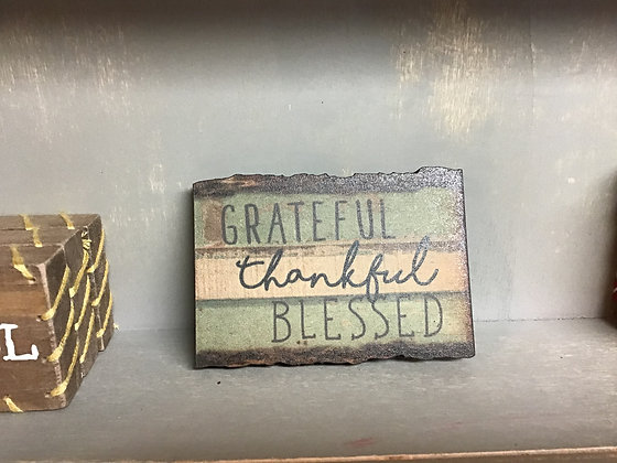 Magnet - Grateful, Thankful,Blessed