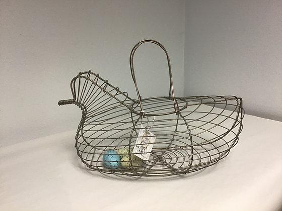Wire Chicken w/ Handles