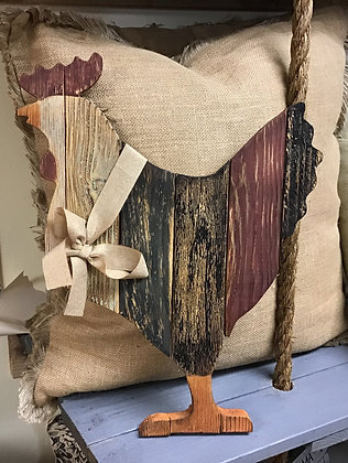 Rustic Rooster Wall Decor