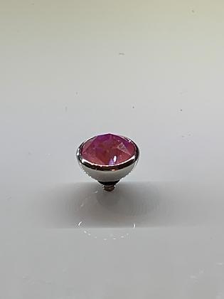 Lotus Pink Delite 10mm Bottone Topper