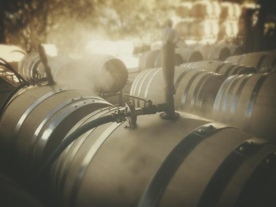 Barrel Steaming
