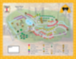 Honey Bear Campground Map