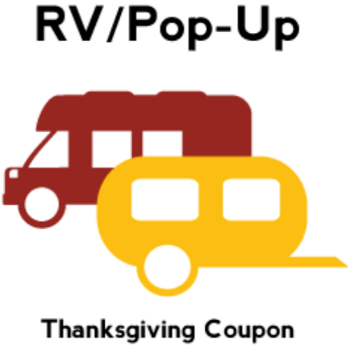 RV/POP UP Buy 2 Nights Get 1 Free