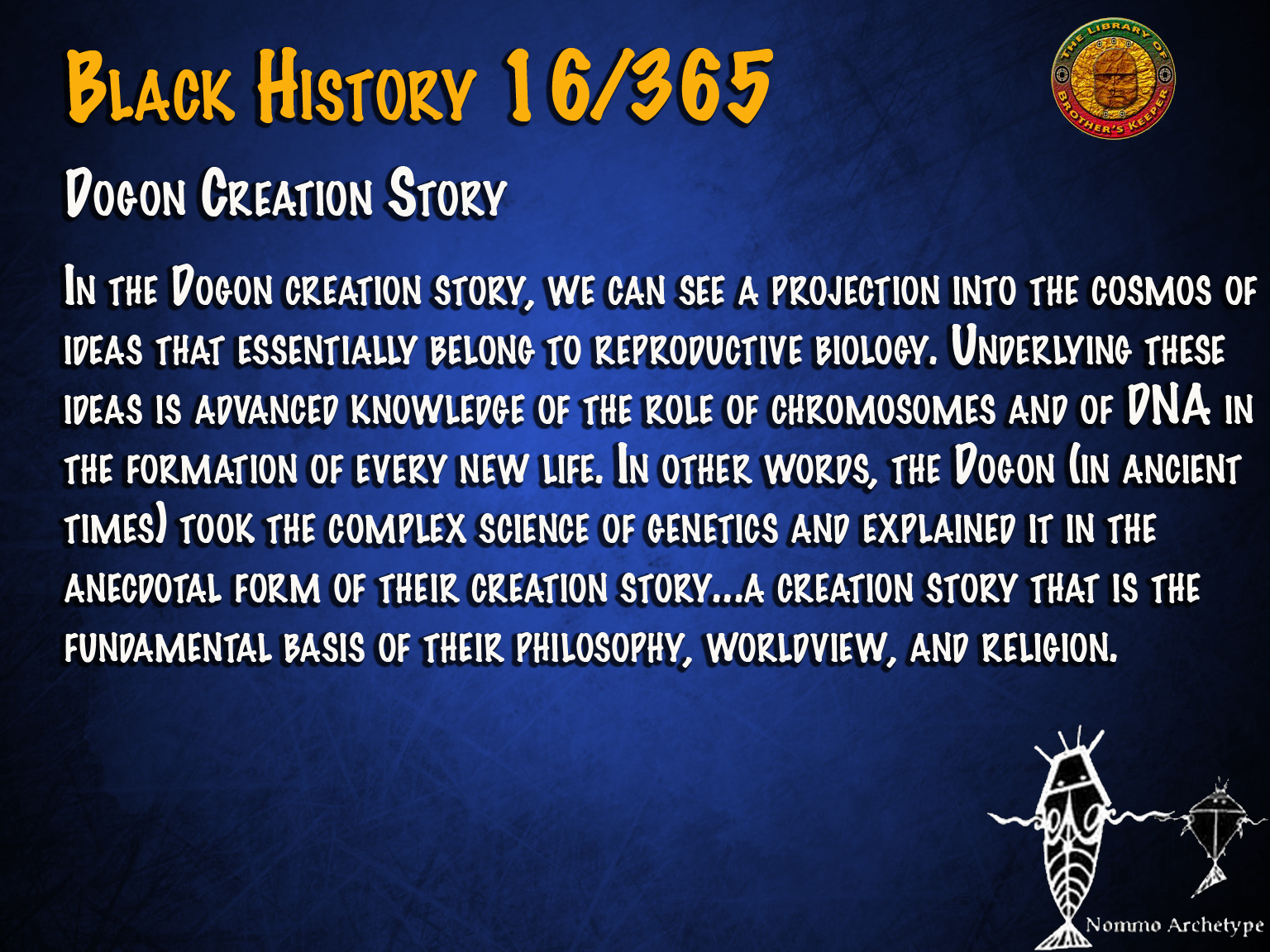 Dogon Creation Story