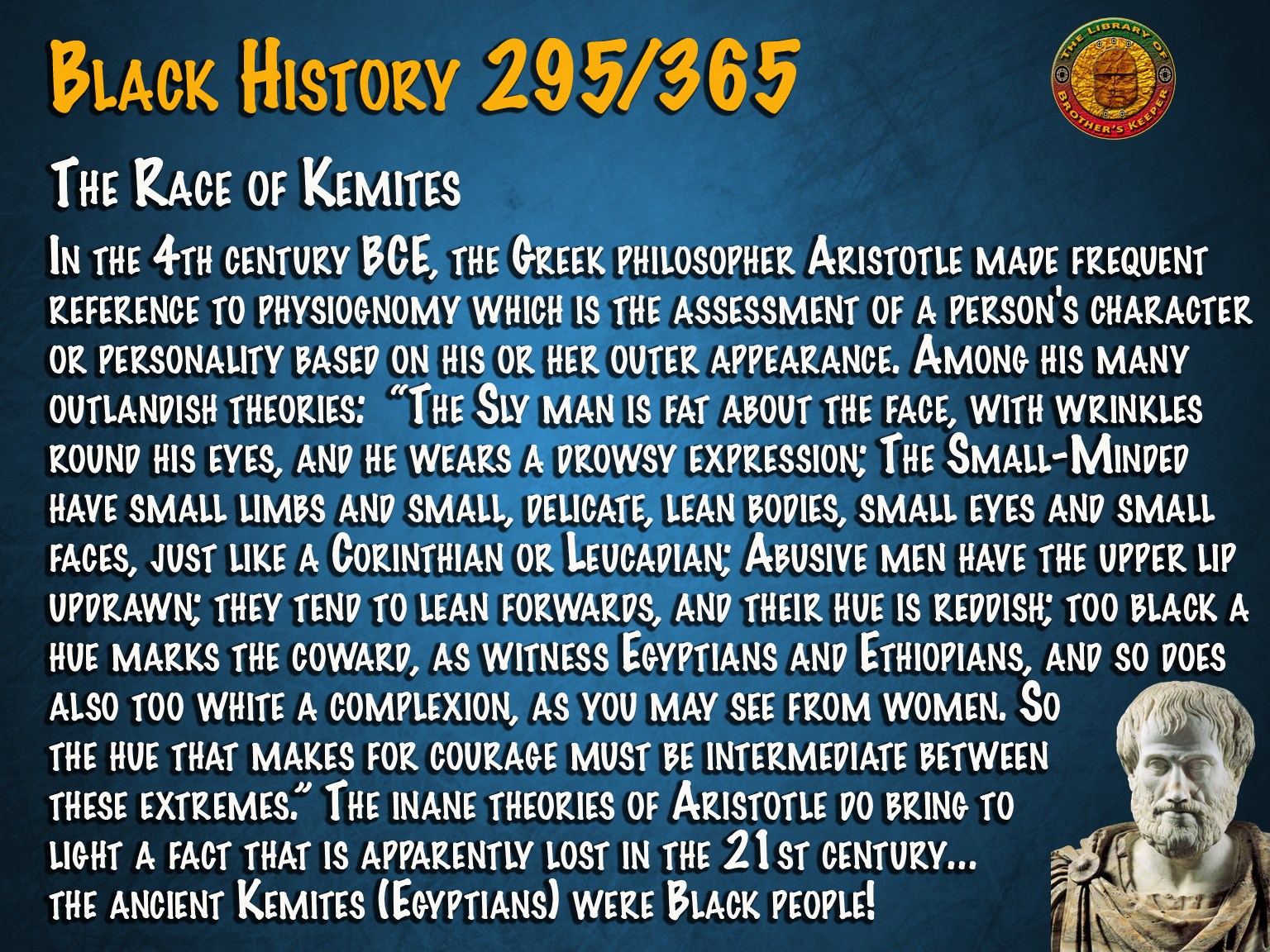 The Race of Kemites