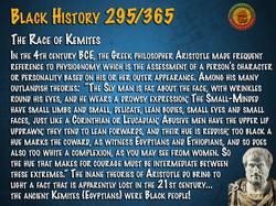 The Race of Kemites