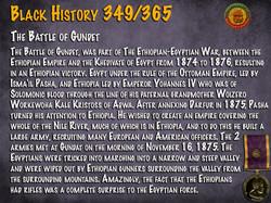 The Battle of Gundet
