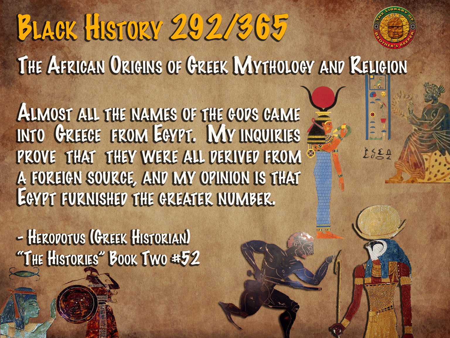 The African Origin of Greek Mythology