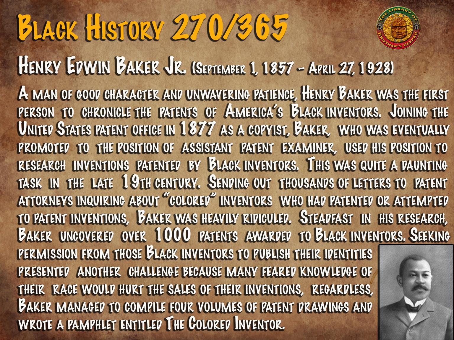 Henry Edwin Baker Jr.
