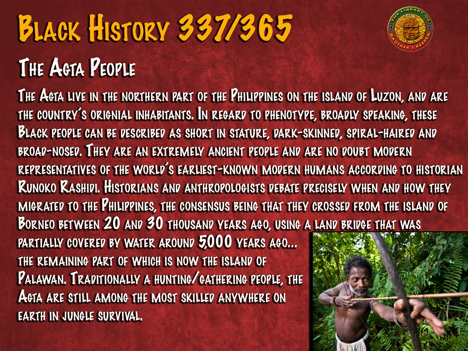 The Agta People