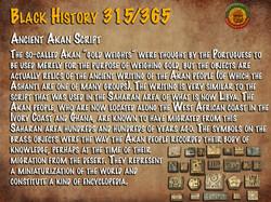 Ancient Akan Script