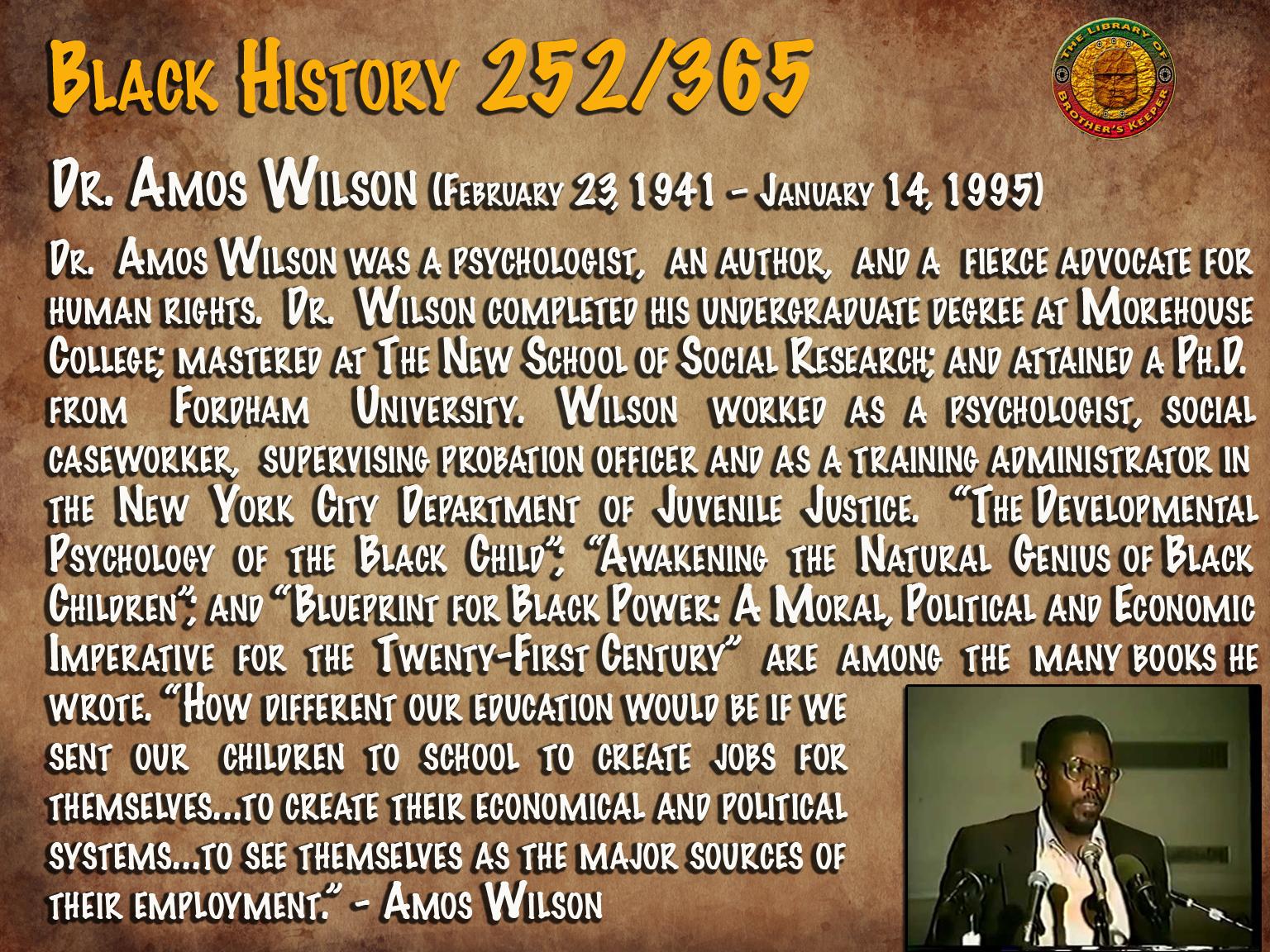 Amos Wilson