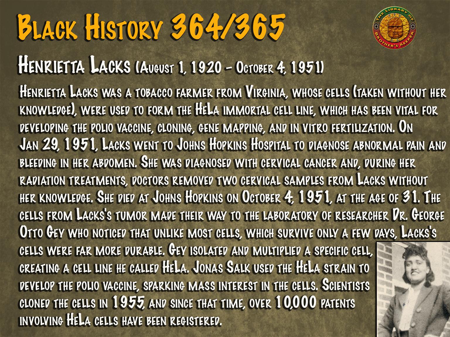 Henrietta Lack