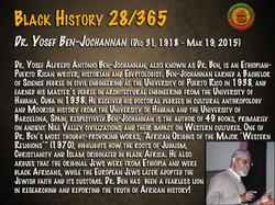 Dr. Yosef Ben Jochannan