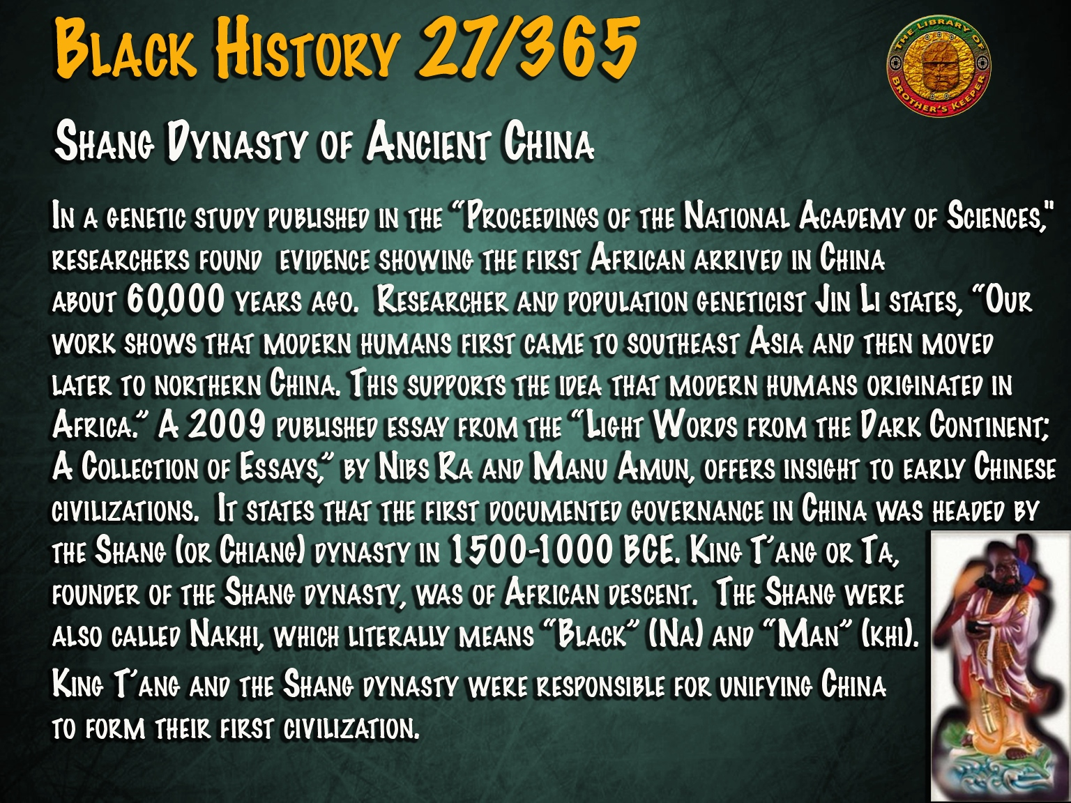 Shang Dynasty of Ancient China
