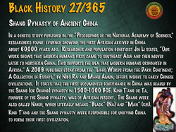 Shang Dynasty of Ancient China