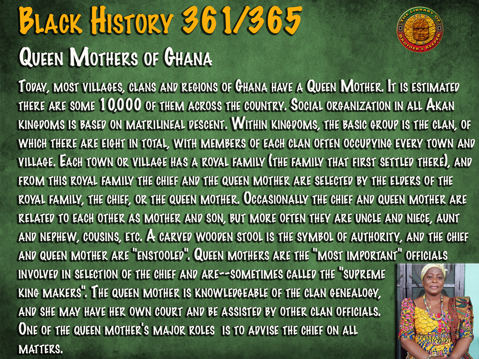 Queen Mothers of Ghana