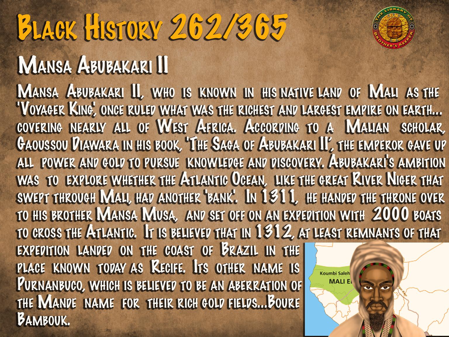 Mansa Abubakari II