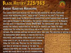 Ancient Kemetic Hieroglyphs