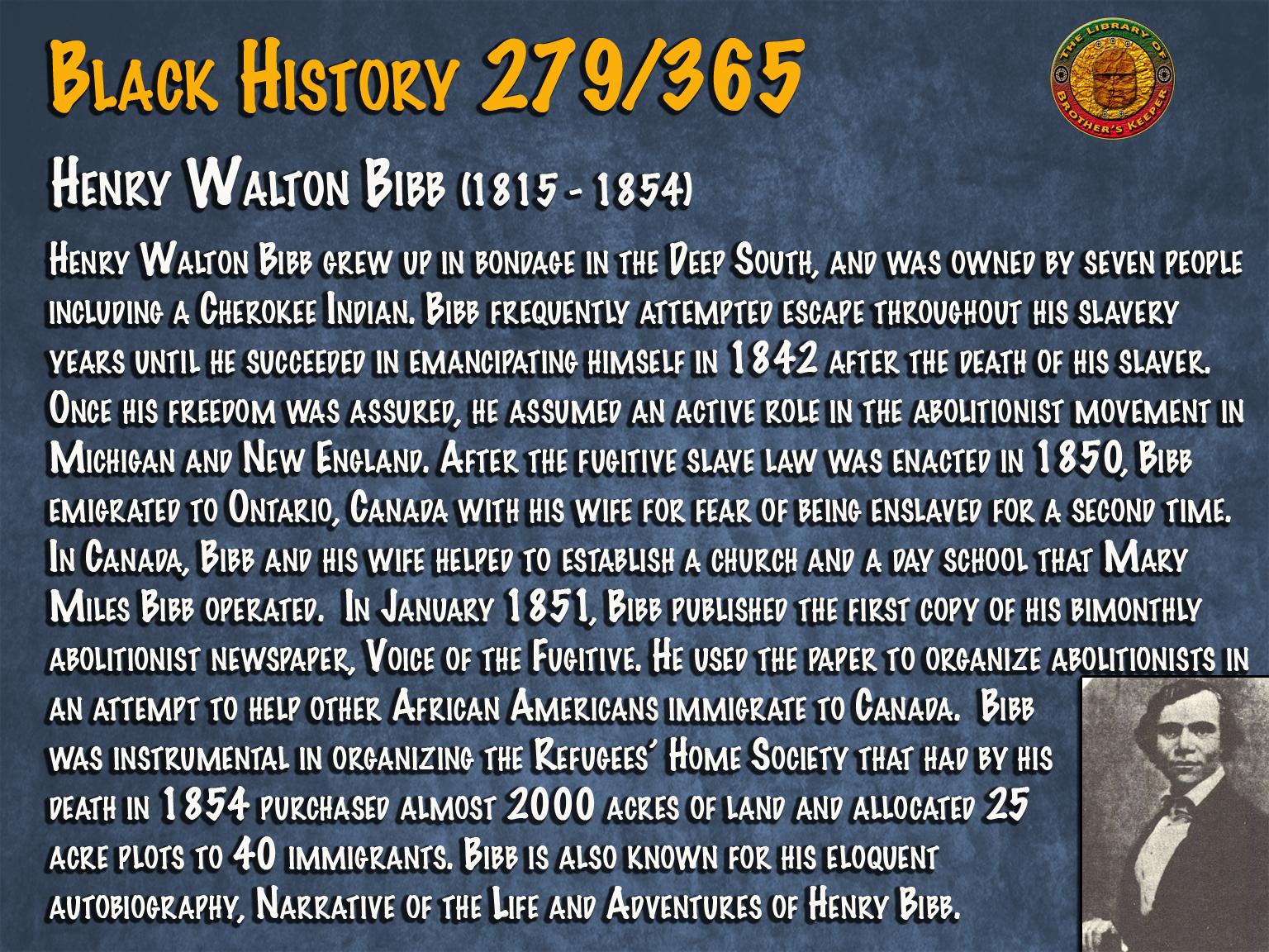 Henry Walton Bibb
