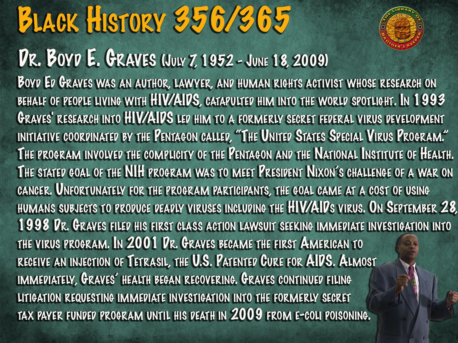 Dr. Boyd E. Graves