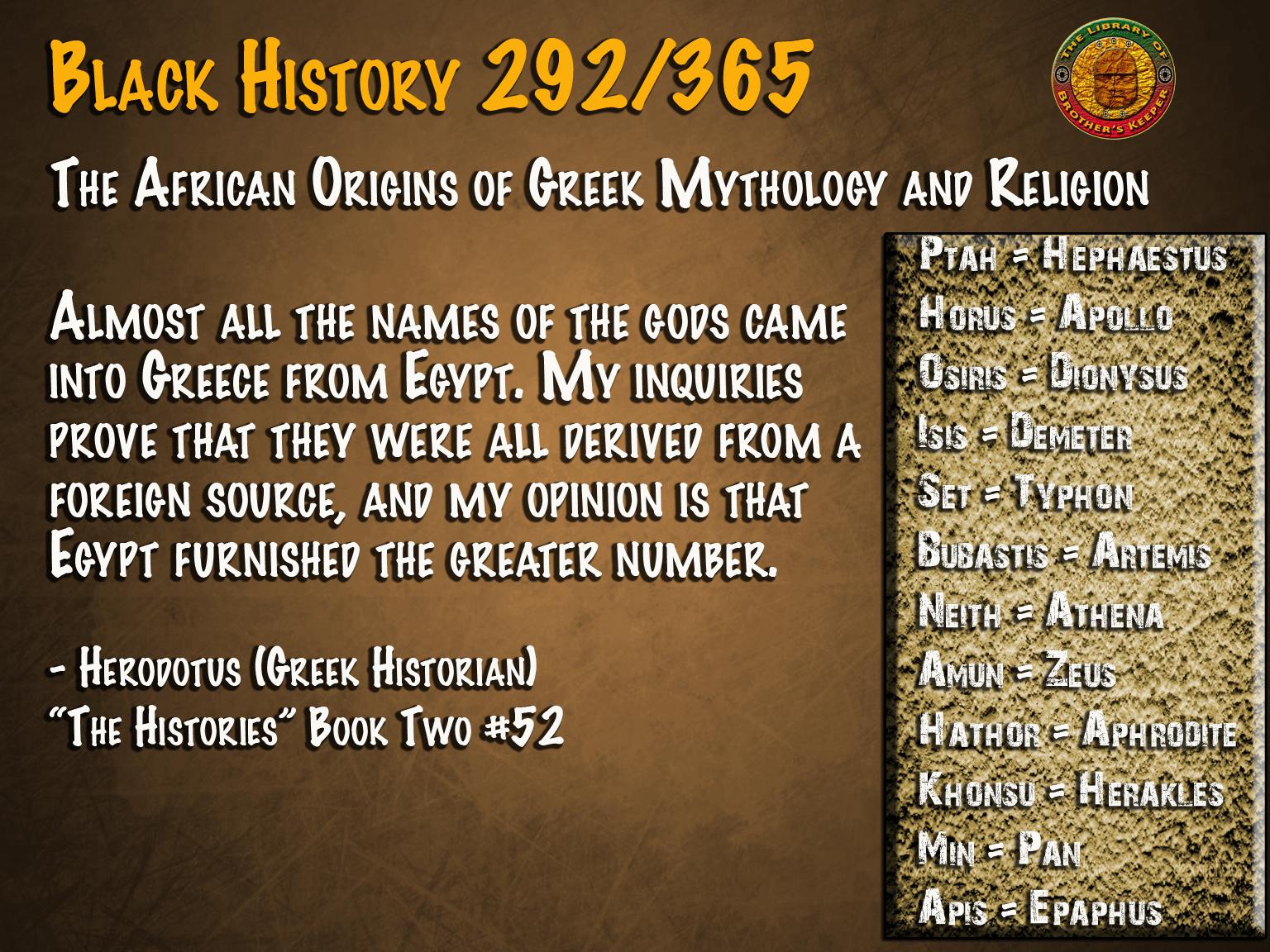 African Origins of Greek Religion