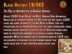 Antibiotics in Ancient Africa