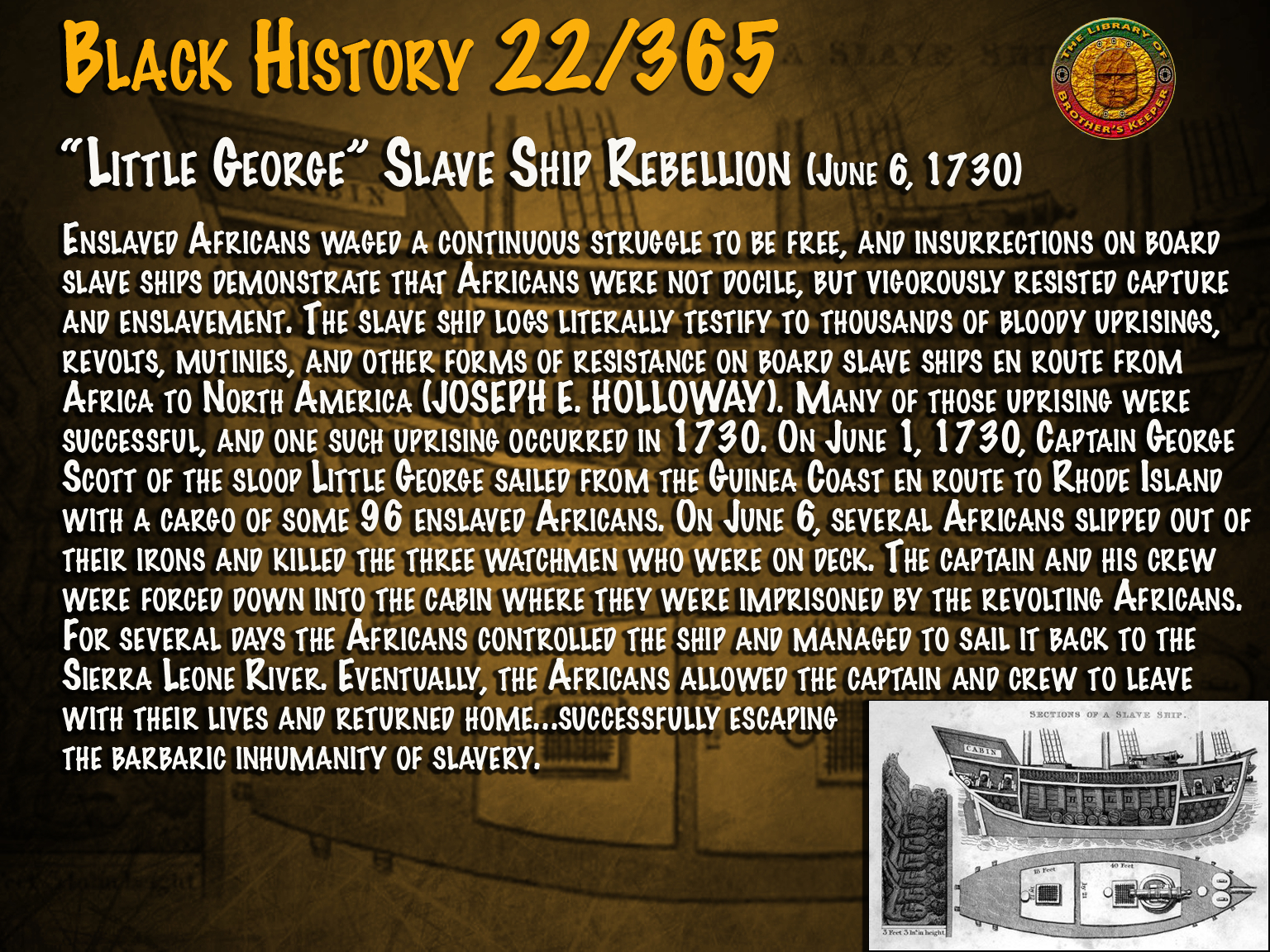 """Little George"" Slave Ship Rebellion"