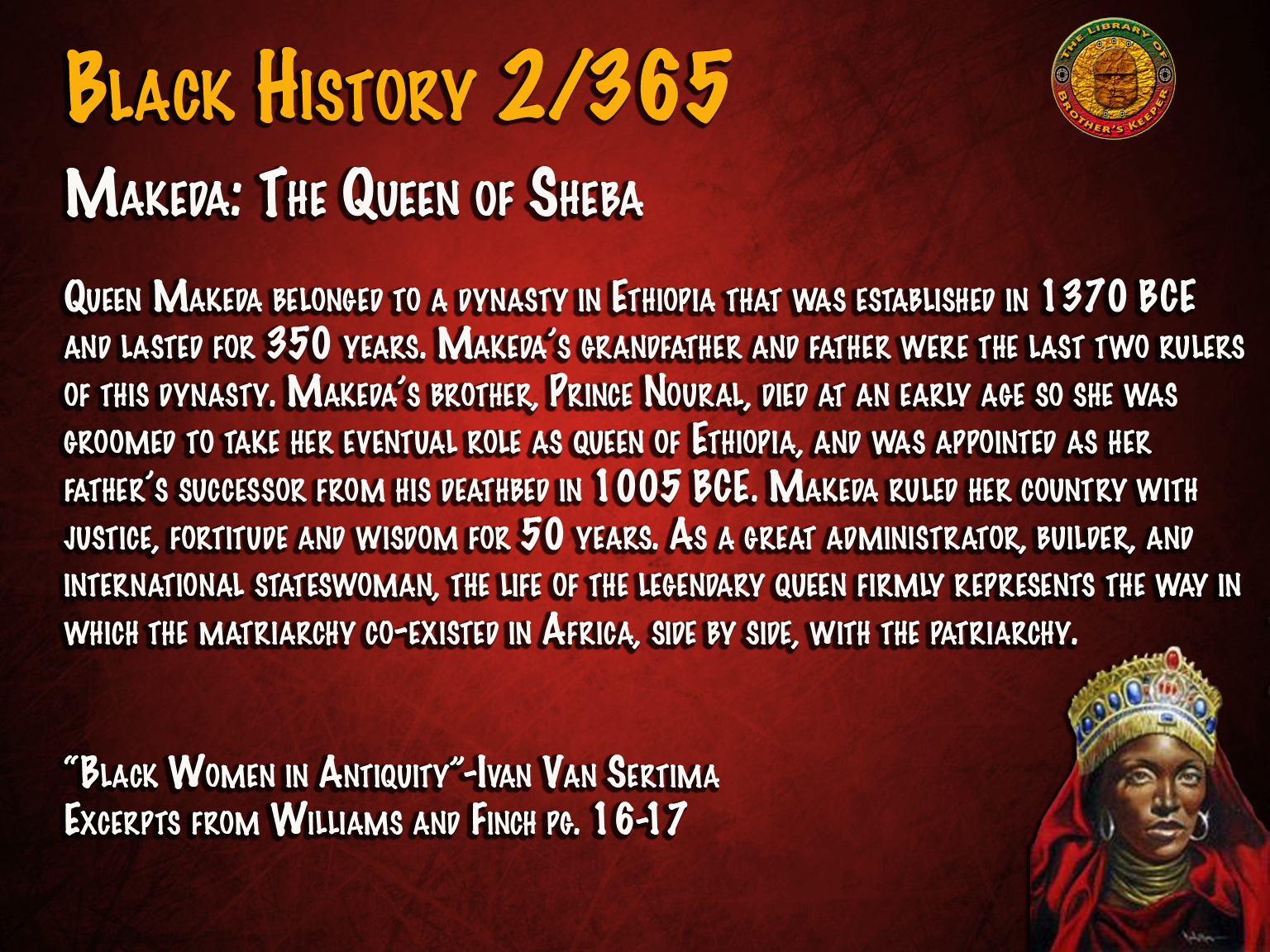 Makeda: The Queen of Sheba