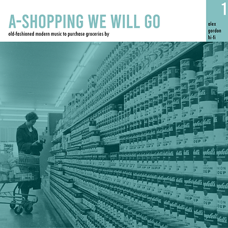 A-Shopping We Will Go FRONT JACKET