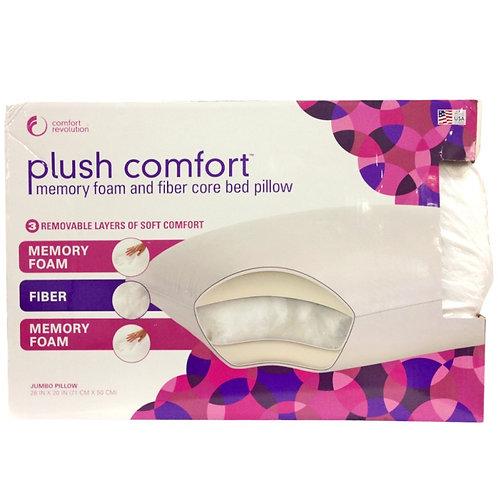 Plush Comfort 记忆枕头