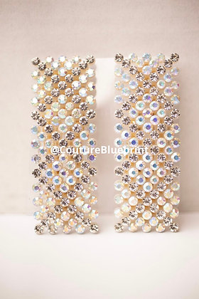 2 Bling Hair Clips