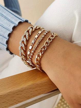 I'm Here Chain Bracelet