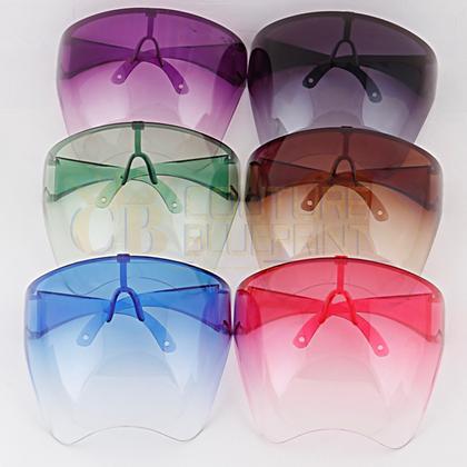 CB Gradient Face Shield Sunglasses