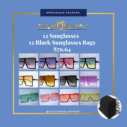 12 Sunglasses Package