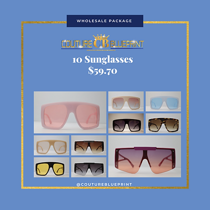10 Sunglasses Package