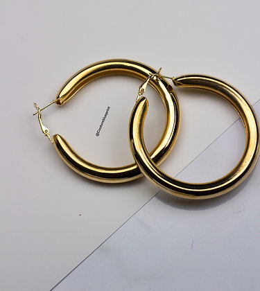 12 Khloe Hoops Wholesale