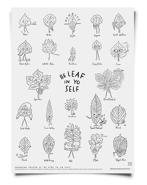 Beleaf in Yo Self Poster Pack Download