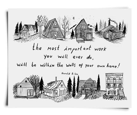 Most Important Work 2 - Art Print
