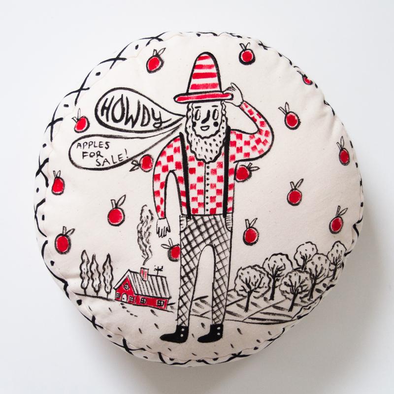 Gianni Appleseed Cushion