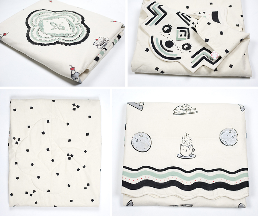 Cold Cake Cafe quilt
