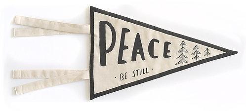 """Peace Be Still"" Pennant"