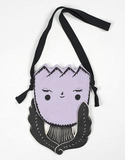 """Sleeping Tulip"" pocket purse"