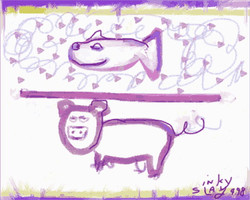 Fish Over Pig