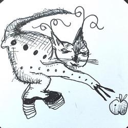 Kitty with Platform Shoe
