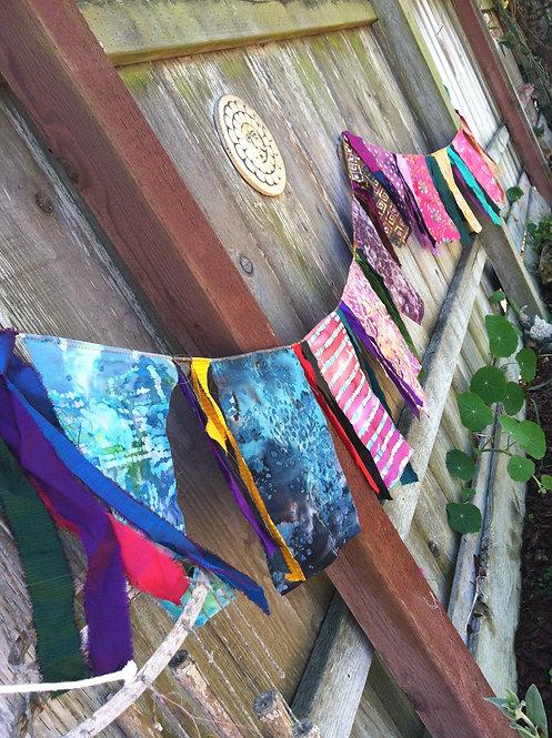 Prayer Flags, Tibetan Prayer Flage, fairy Garden F