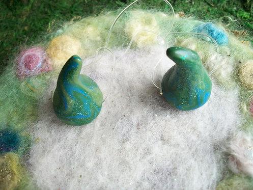 Pixie Horns, Green