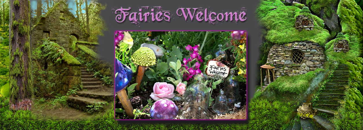 FairiesWelcome.com home page